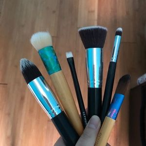 Sephora and ecotools makeup brushes